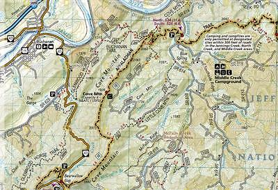 APPALACHIAN TRAIL COMPLETE Trail Maps Topo Map Guides Set National  Geographic