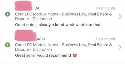 Commercial Law And Practice LPC Notes - Distinction - 79% In Exam Achieved 5