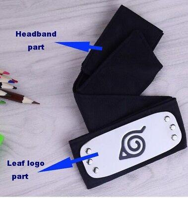 Naruto Uchiha Itachi Black Leaf Village Ninja Headband Halloween Cosplay Prop AU 3