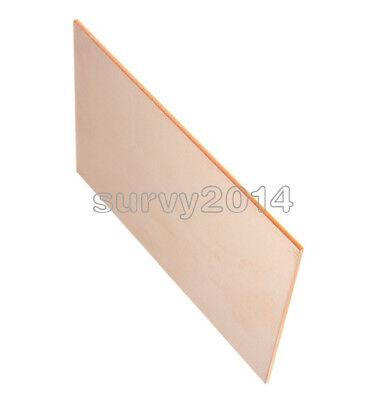 1/2/5/10PCS 10*15CM FR4 1 5MM Thickness Single PCB Copper Clad Laminate  Board