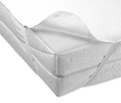 NEW WATERPROOF JUNIOR BED MATTRESS PROTECTOR SHEET WASHABLE 160x70 4