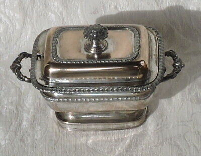 Rare Georgian Old Sheffield Plate Sauce Tureen With Lid c1800 Gadroon Edges
