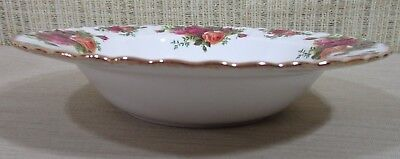 2X Royal Albert Old Country Rose Set 2 Rim Soup Bowls Cereal Bowls Never Use 7