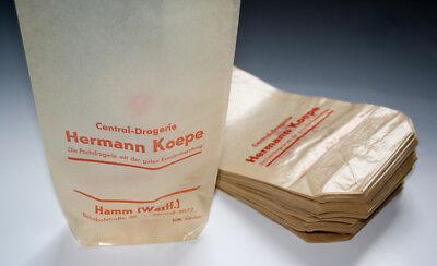 Konvolut 50 x Tüten aus Drogerie um 1955