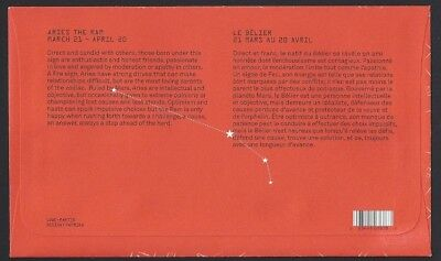Canada  # 2449   ARIES   Sign of the Zodiac  Brand  New 2011 Unaddressed Cover 2