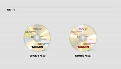 K-POP SHINEE TAEMIN 2nd Mini Album [WANT] MORE Ver. CD+Booklet+Photocard+Paper 7