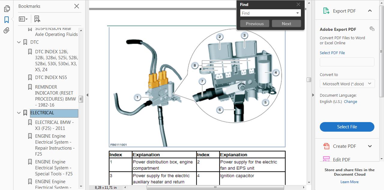 *workshop manual service & repair guide for bmw x3 f25 2010-2017 +wiring  diagram 4 4 di 5