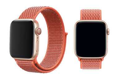 Woven Nylon Band For Apple Watch Sport Loop iWatch Series 4/3/2/1 38/42/40/44mm 7