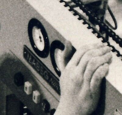 Druckerei MABEG Systeme Mörfelden-Walldorf Bogenanleger Maschine * Foto um 1950 2