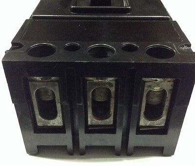 Westinghouse DA DA3400XZ 3 pole 240V 400 AMP Circuit Breaker