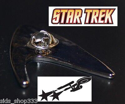 Star Trek Logo Metal Pin brooch Silver color Collectible gift decor cosplay 11