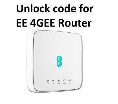 Unlock code 4 latest EE 4GEE Router HH70VB 4GEE WiFi / Mini EE70 & EE120-2AE8GB3 3