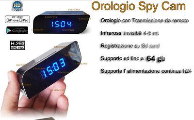 Sveglia Orologio Telecamera Spia Camera Spia Wifi Sveglia Nascosta 3