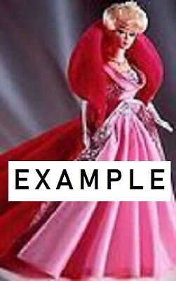 "6 STANDS. New. KAISER #2275 BLACK Fit 11.5""-12.5"" tall doll BARBIE,MIDGE,FRANCIE 7"