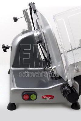 REBER Affettatrice elettrica TA22 Lama 220mm Motore 140W alluminio pressofuso 3