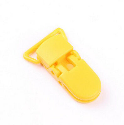 10Pcs Baby Safe Dummy Plastic Pacifier Clip Holder Soother Pacifier Chain Making 10