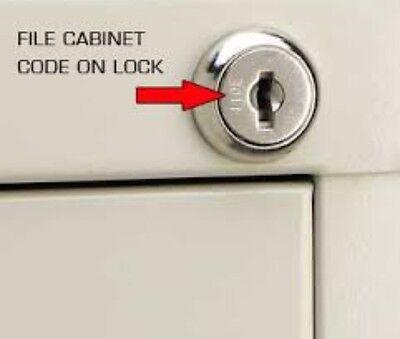 1 Of 2 2 HON File Cabinet Keys 101E 150E Keys Made By Locksmith