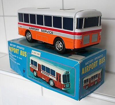 Original Alps Airport Service Bus aus den 70ern, Blech, OVP, Super Zustand 3