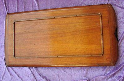 Grosses altes Tablett Jugendstil um 1900 Art Nouveau Tray marquetry 6