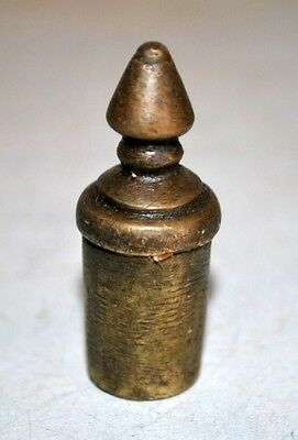 Old Vintage Rare Brass Hand Crafted Door Knob Decorative Drawer Cabinet Handle 7