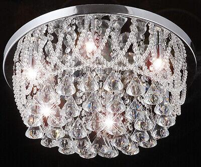 Strass Plafond Cm Plafonnier Lampe Led Lustre Cristal 35 Cristaux D'éclairage 8nNOXwP0k