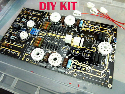 NEW Biliary tube amp drive low resistance large box and kilo-ohm headphone KIT 2