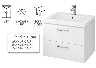Vbcbad Badmobel Waschbecken Mit Unterschrank Waschtisch Schubladen