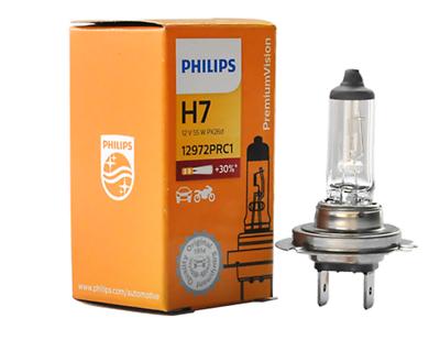 2x PHILIPS H7 Premium VISION Bright 12V + Headlight Lamp Bulbs 55w