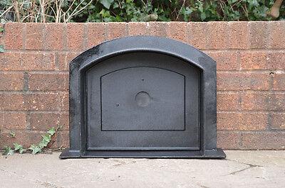 58.5 x 43 cm cast iron fire door clay bread oven doors pizza stove smoke house N 8