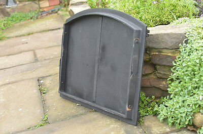 48 x 38 cm cast iron fire door clay / bread oven doors pizza stove fireplace 6