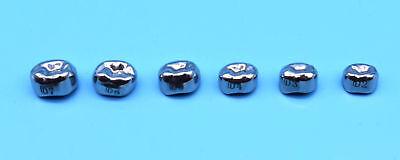 Dental Kids Primary Molar Crown Stainless Steel Pediatric 48 Sizes Hot Sale 5