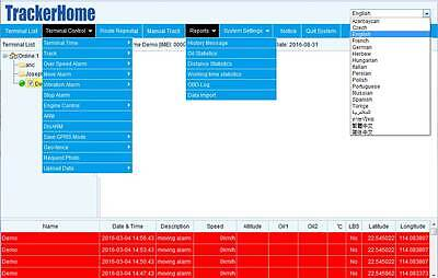 COBAN TRACKER WEB platform service fee one year IMEI Activate 102B 103 105  303