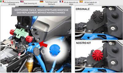 Kit ribassamento sella bmw r 1200 gs lc 13-18 r1250gs 19 tamponi di ribassamento 10