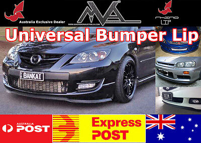 Universal Front Bumper Lip Spoiler EVO 1 2 3 4 5 6 7 8 9 10 X Lancer ES CE VRX