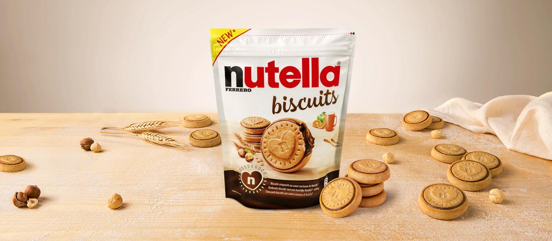 Nutella Biscuits Biscotti - Sacchetto Da 304 Grammi - Ferrero Italia 3