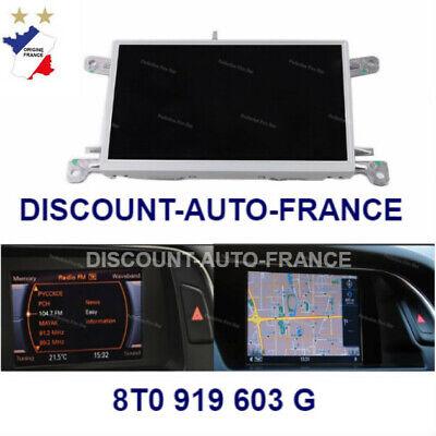 8T0919603G neuf garantie 12 mois Ecran GPS AUDI A4 A5 Q5 Ref