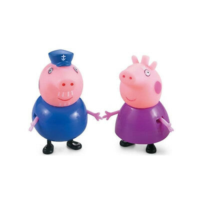Xmas gift 25 Pcs Peppa Pig Family&Friends Emily Rebecca Suzy Action Figures Toys 5