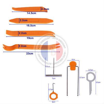 Kit outils plastique 4 pieces anti rayure pour demontage panneau coffre ect....