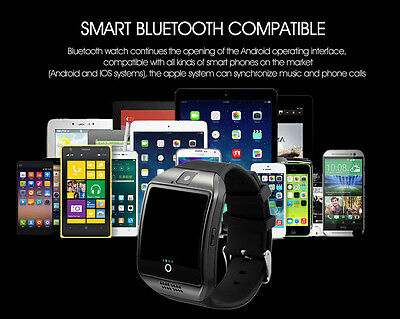 New Orologio ARC Bracciale SmartWatch Bluetooth Telefono per Ios Android iPhone 8