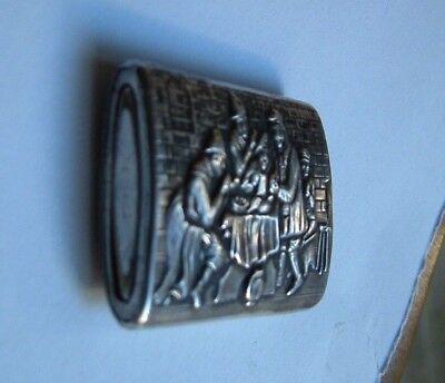 Antike 835 Silberne Zündholzer Dose (Match Safe) 3