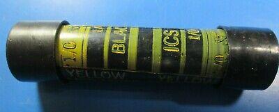 Blackburn ICS78-1 Insulated 1/0 Aluminum Service Splice Sleeves Lot of (10) 2