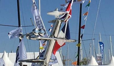 GLOMEX TALITHA AGC NUOVA ANTENNA TV DIGITALE TERRESTRE V9125 barca camper FM