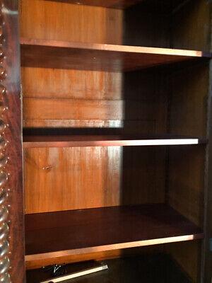 Antica ed Importante Libreria in Mogano a 4 Ante - Restaurata (in corso d'opera) 11