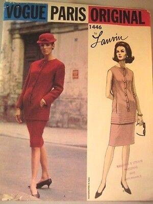 Vogue Paris Original Pattern 1446 Lanvin 6
