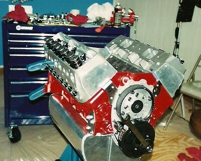 THE 1000 HP Hi-Performance 420 CI Small Block Chevy -Step by Step 2Hr DVD
