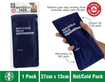 Hot Cold Gel Pack Reusable Microwaveable Freezer Ice Pain Relief First Aid 3