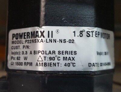 Pacific Scientific POWERMAX II P22NSXA-LNN-NS-02 1.8º Stepping Motor (R6S5.6B2) 2
