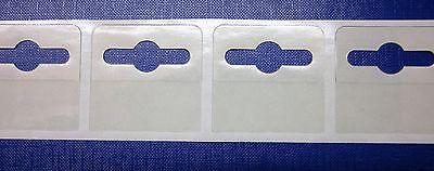 300 Self Adhesive 42x40 Hang Tab Euro / Slot / Hooks Hanging Tabs 3
