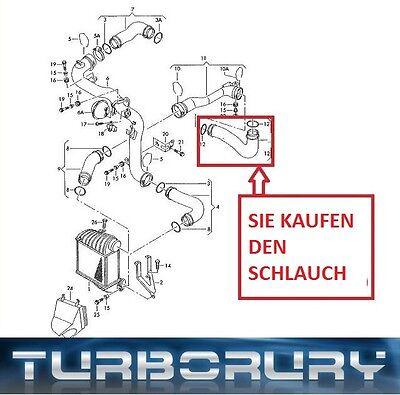 NEU FüR AUDI A3 1.9 TDI TURBOSCHLAUCH LADELUFTSCHLAUCH 1J0145828R 1J0145828M T