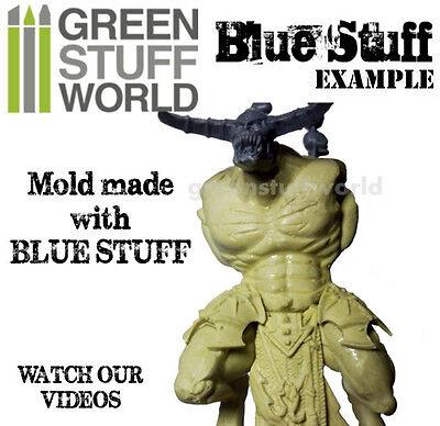 Blue Stuff 8Bars - Make reusables instant molds - Warhammer 40K OOAK Doll Reborn 4